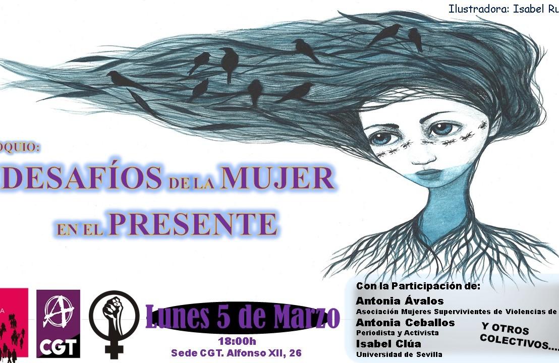 """Coloquio: """"DESAFÍO DE LAS MUJERES EN ELPRESENTE"""""""
