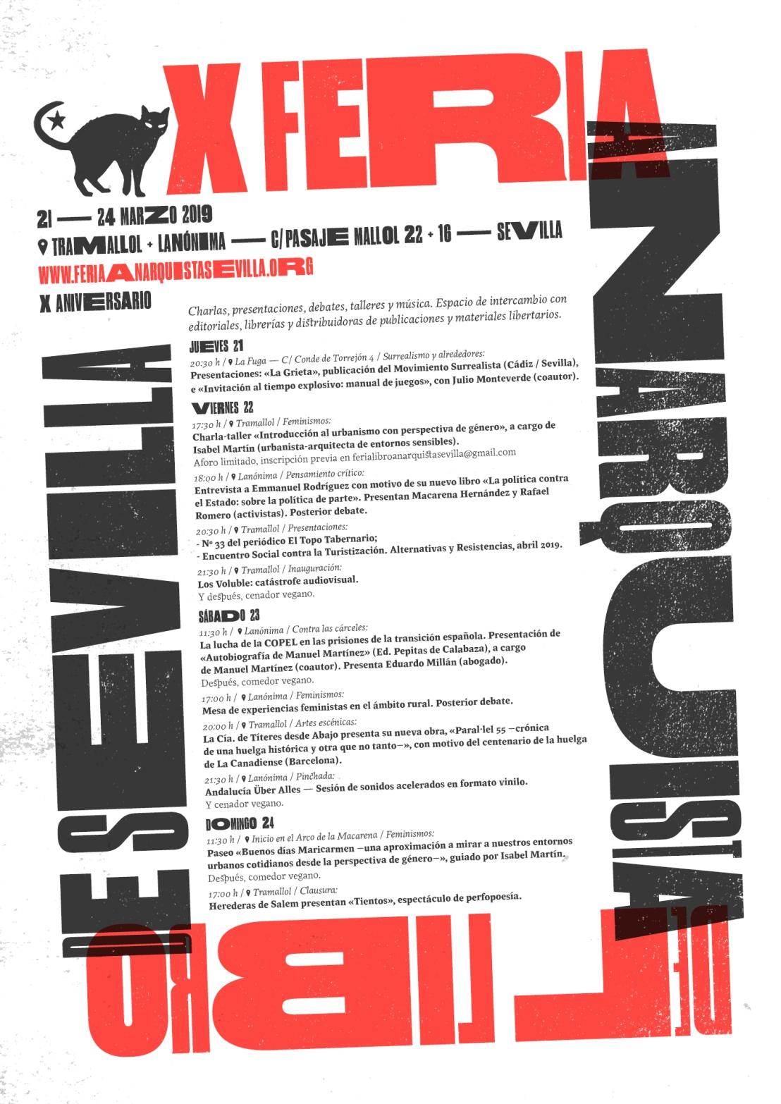 Apoyo a la Feria Anarquista delLibro
